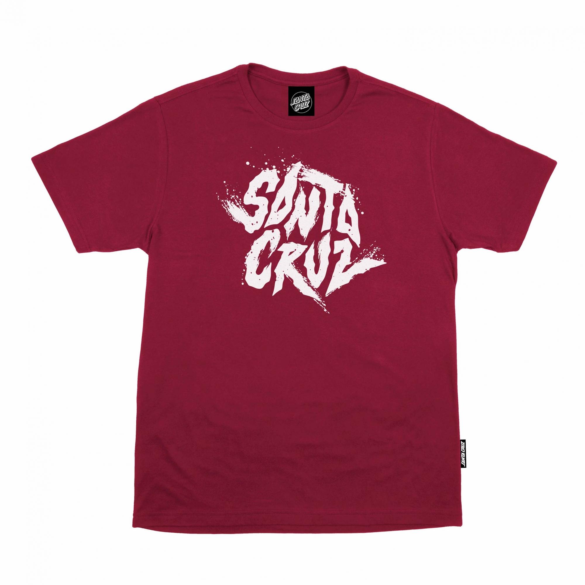 Camiseta Santa Cruz BIG Flare Vermelho