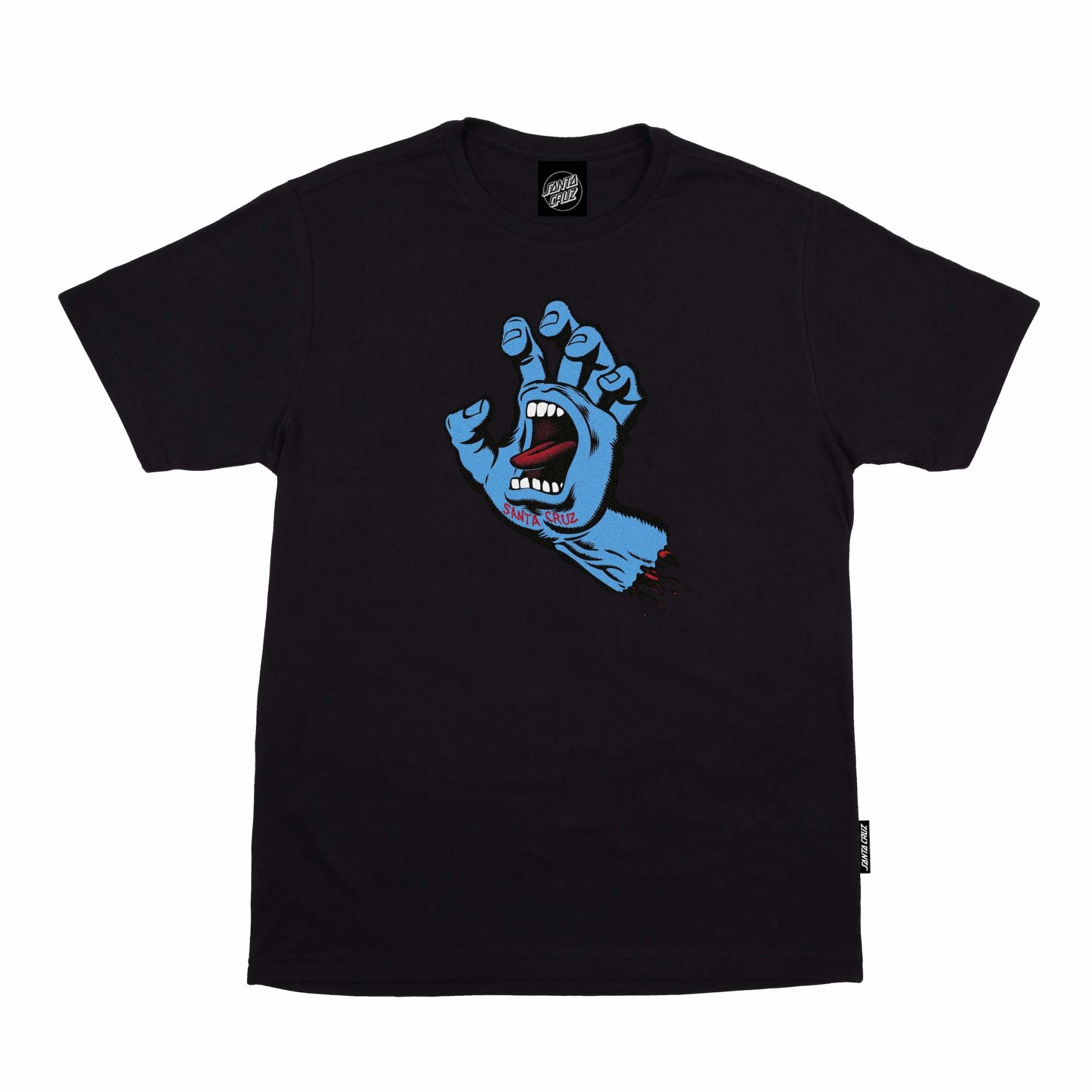 Camiseta Santa Cruz BIG Screaming Hand Preto