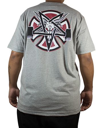 Camiseta Thrasher Collab Independent Pentagrama Mescla