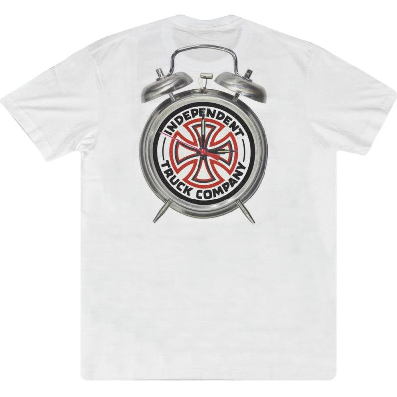 Camiseta Thrasher Collab Independent Time To Grind Branca