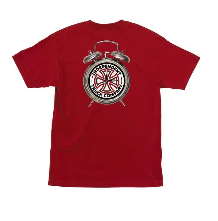 Camiseta Thrasher Collab Independent Time To Grind Vermelha