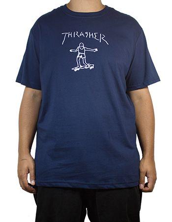Camiseta Thrasher Gonz Azul Marinho