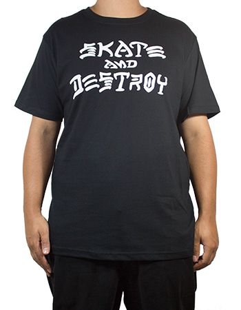 Camiseta Thrasher Skate And Destroy Preta