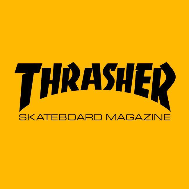 Camiseta Thrasher Skate Mag Amarela Logo Preto