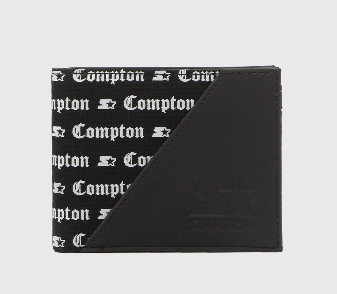 Carteira Starter Compton Letters
