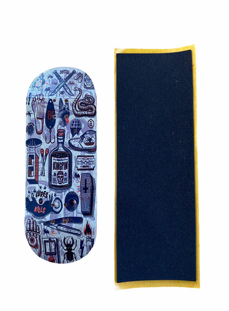 Deck Fingerboard Bangin Dagger 34mm