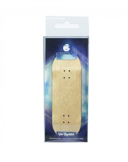 Deck Fingerboard WOW Color Natural 33.5mm
