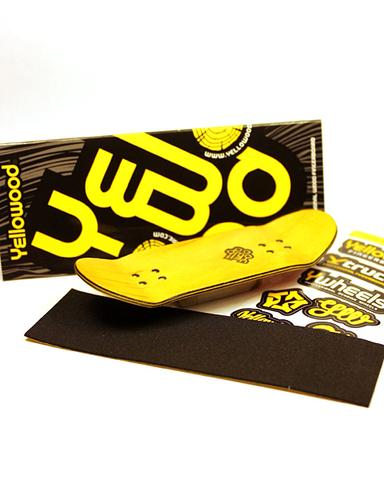 Deck Fingerboard Yellowood 33mm Kufo II