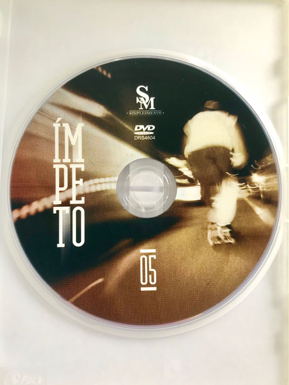 DVD Simplesmente 05 Ímpeto