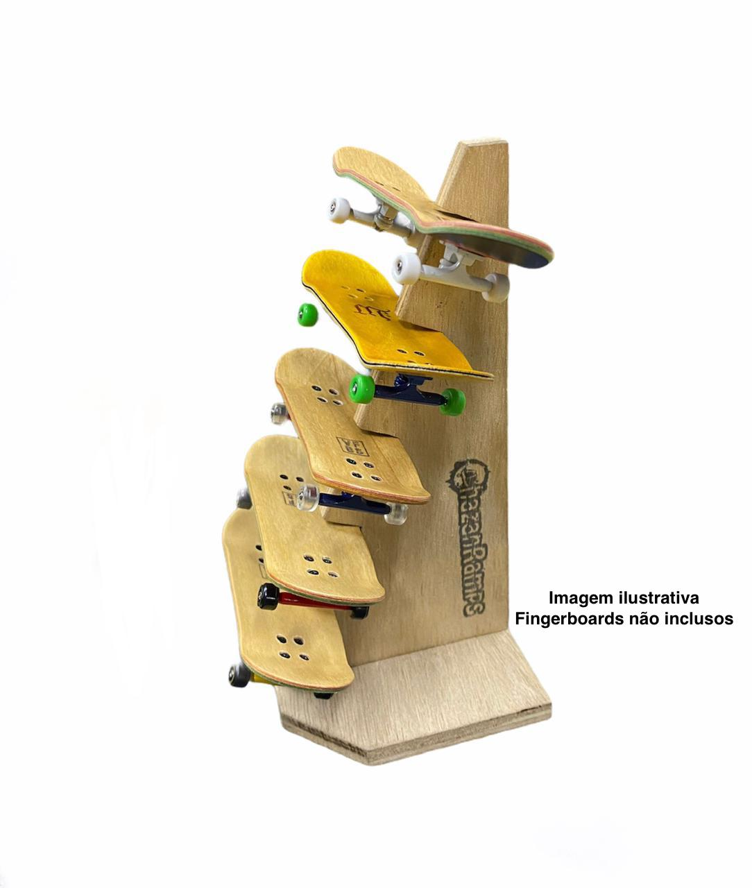 Expositor de Mesa para Fingerboards Chazan Ramps