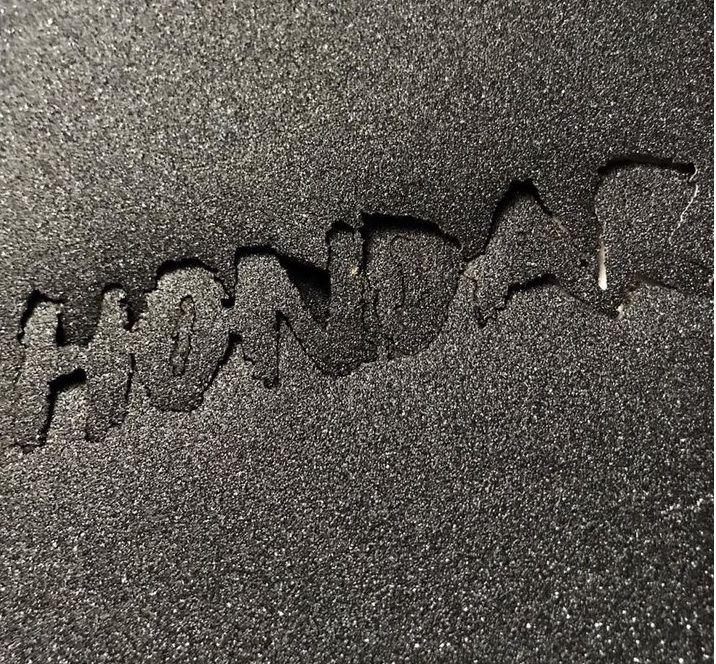 Lixa Hondar Laser Cut Logo