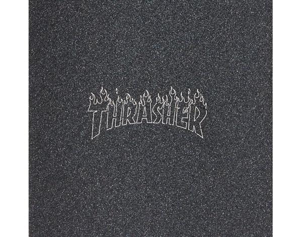 Lixa MOB Grip Thrasher Laser Cut Flame 9 X 33