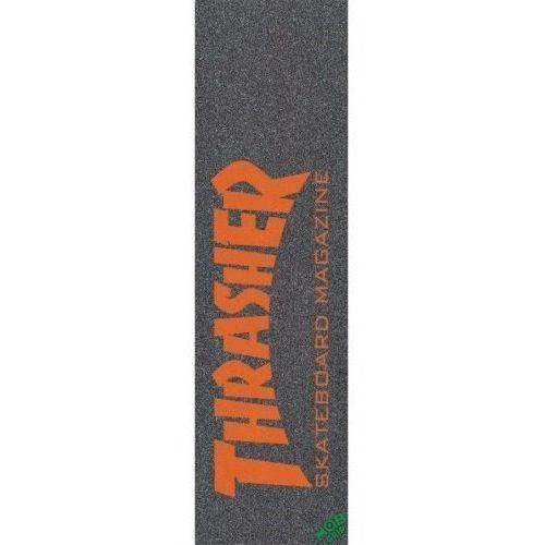 Lixa MOB Grip Thrasher Skate Mag Laranja 9 X 33
