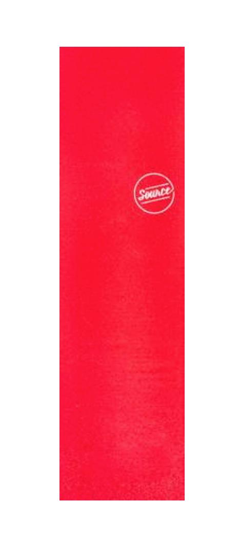 Lixa Source Translucida Vermelha 9 X 33