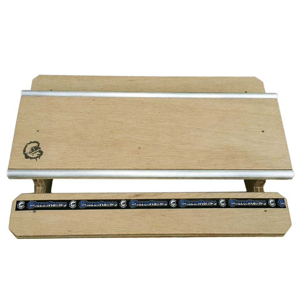 Mesa de Picnic de madeira para Fingerboard Chazan Ramps