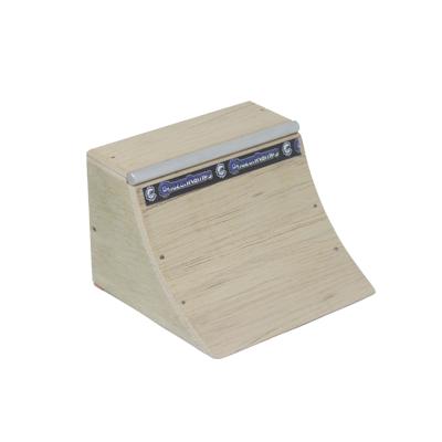 Mini Quarter Madeira para Fingerboard Chazan Ramps