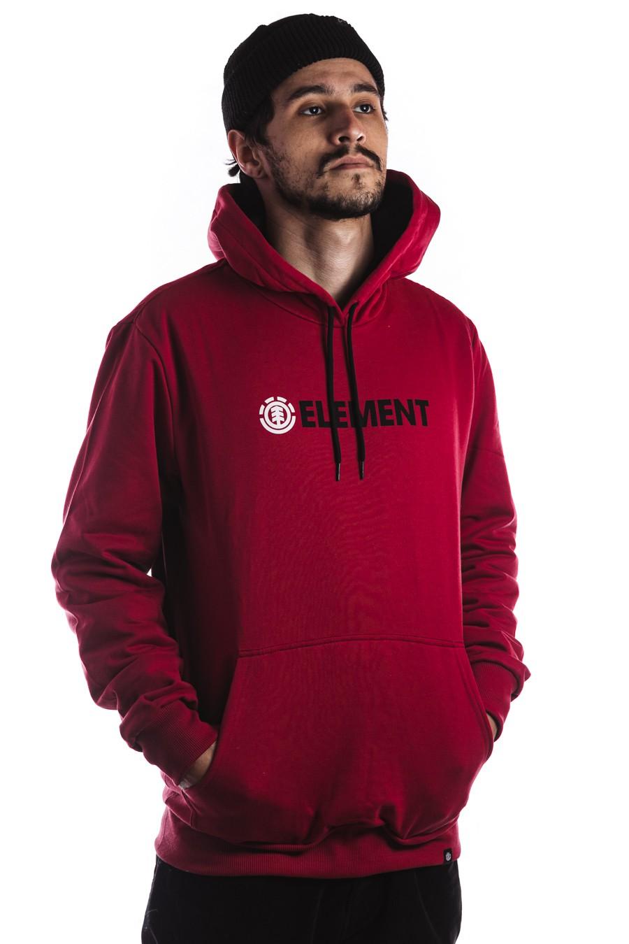 Moletom Canguru Element Blazin Vermelho
