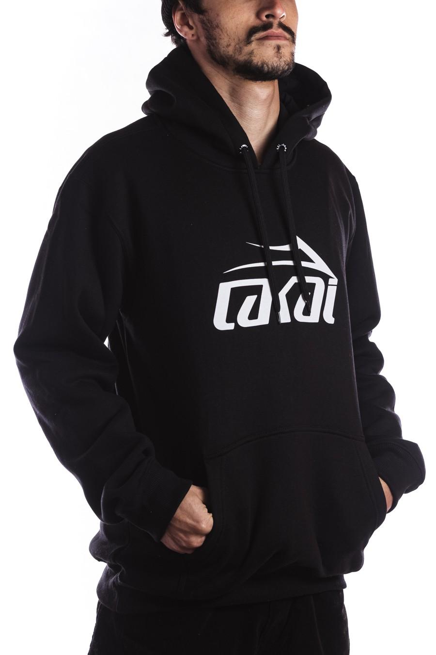 Moletom Lakai com capuz Logo Preto