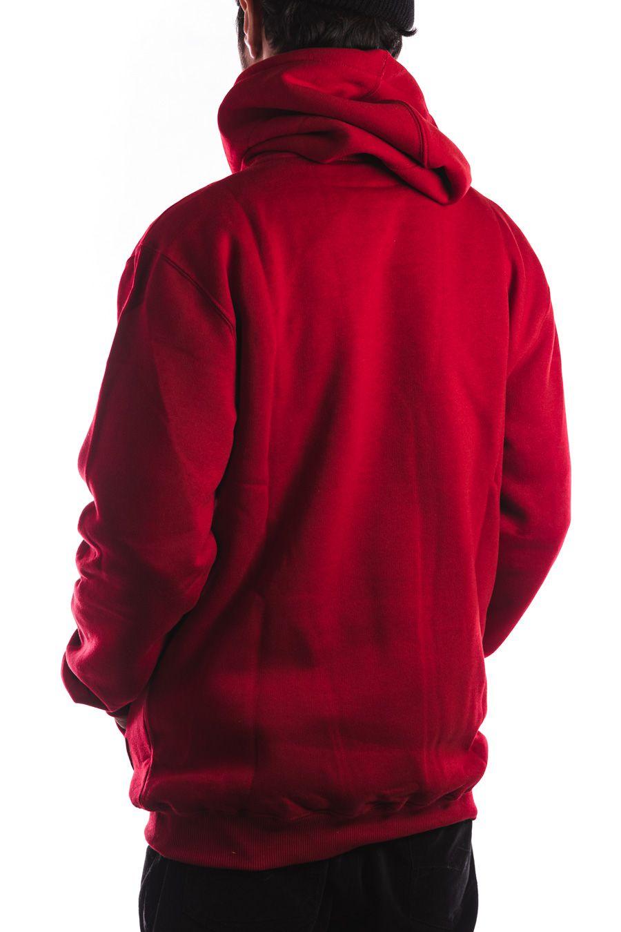 Moletom Lakai com capuz Logo Vermelho