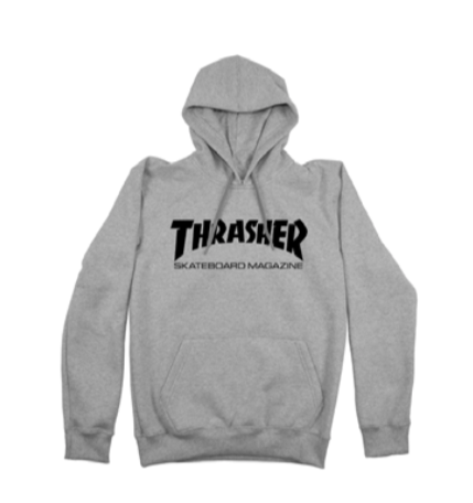 Moletom Canguru Thrasher Skate Mag Cinza