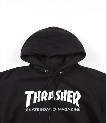 Moletom Canguru Thrasher Skate Mag Preto