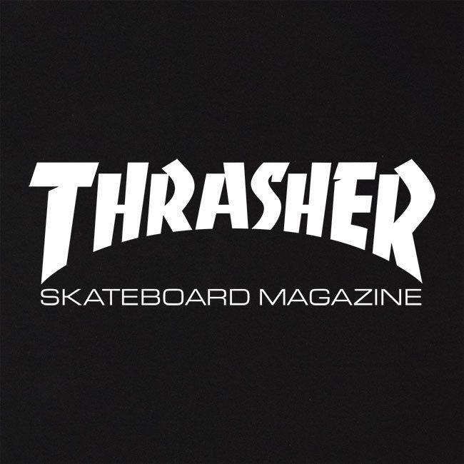 Moletom Sem Capuz Thrasher Skate Mag Preto