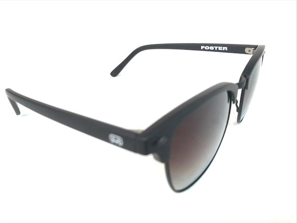 Óculos de Sol Hocks Skate Foster Preto