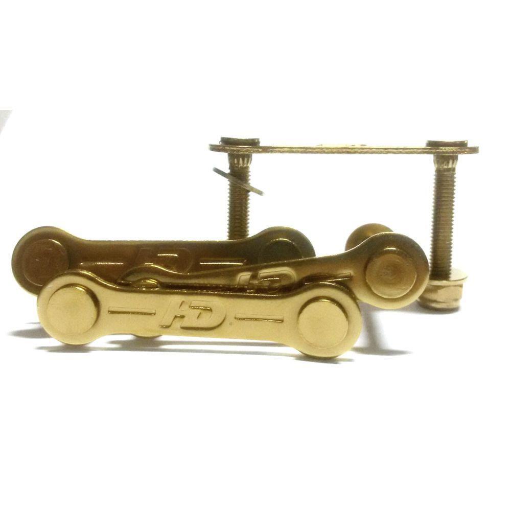 Parafuso de Base Hondar Grampo 1,25 Dourado