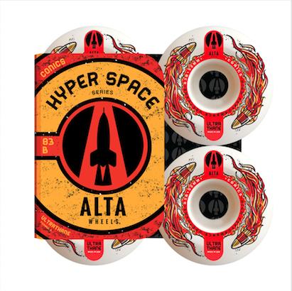Roda Alta Wheels Hyper Space Conics 55mm