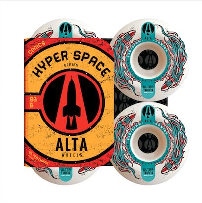Roda Alta Wheels Hyper Space Conics 56mm