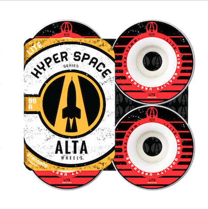 Roda Alta Wheels Hyper Space Lite 52mm