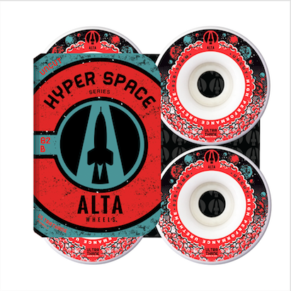 Roda Alta Wheels Hyper Space Uncut 52mm