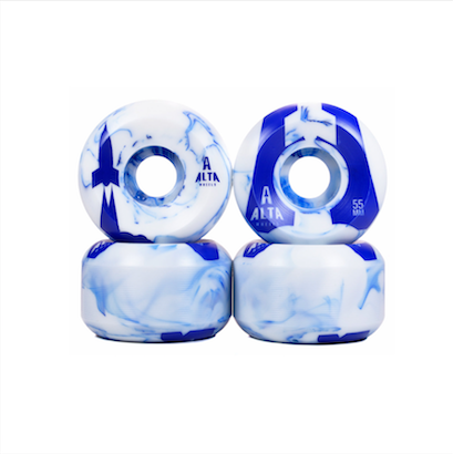 Roda Alta Wheels Launch Series 55mm Swirl Azul