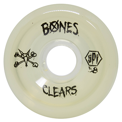 Roda Bones SPF Clear Crystal P5 58mm