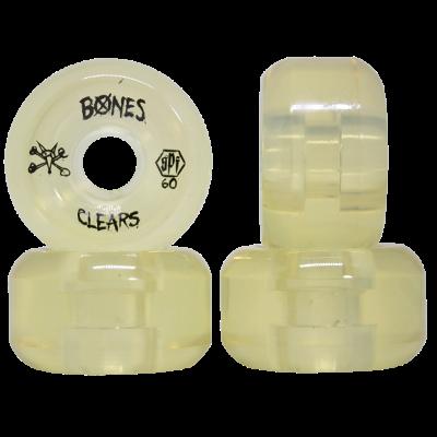 Roda Bones SPF Clear Crystal P5 60mm