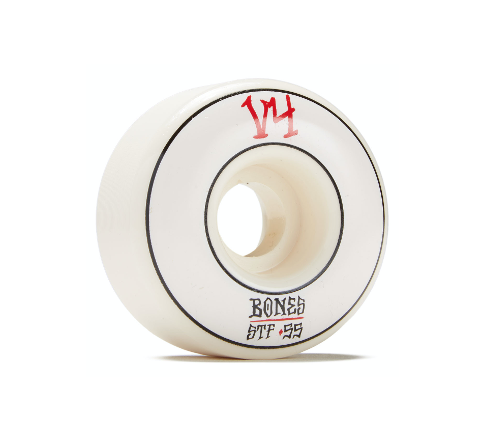 Roda Bones STF Annuals Wide White 55mm V4