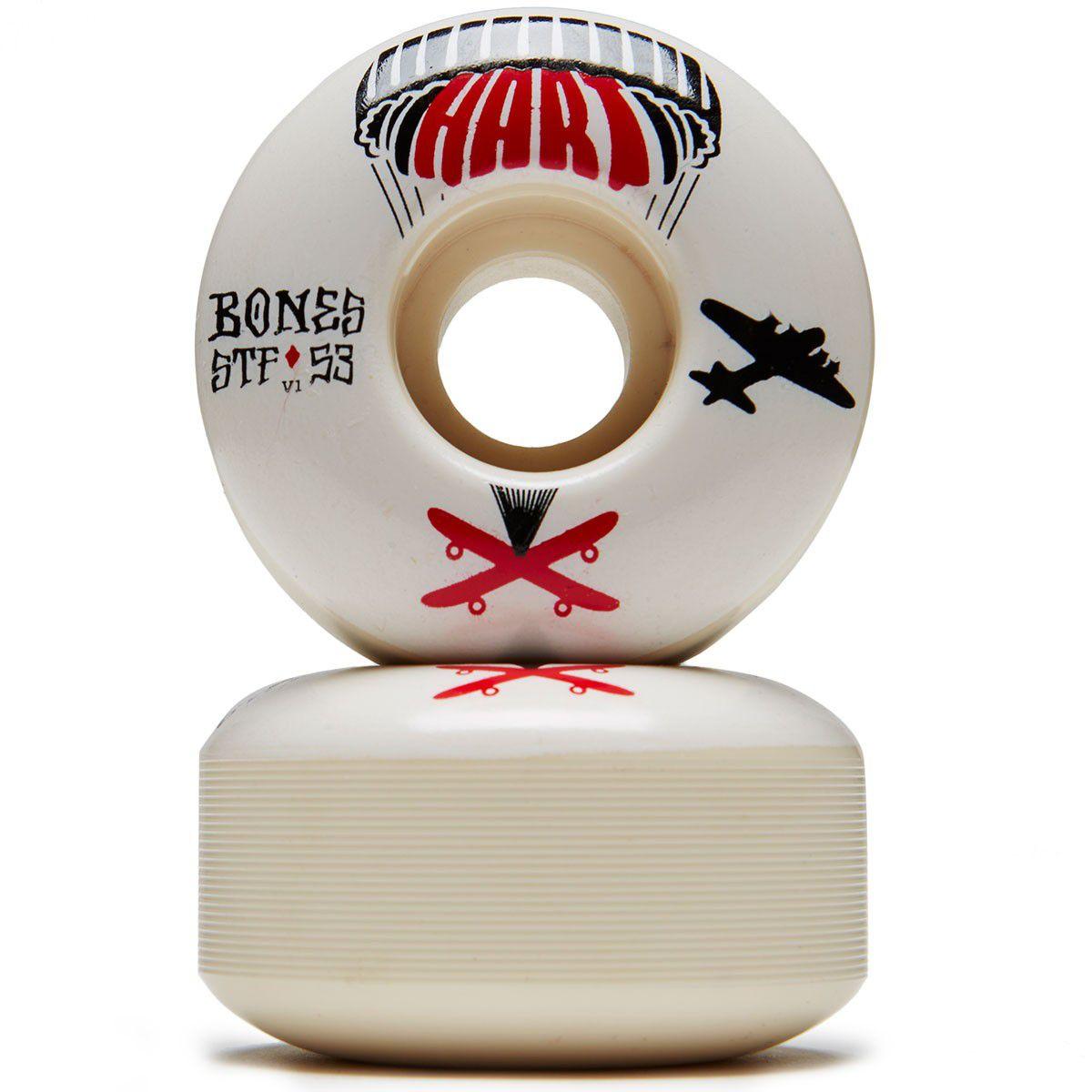 Roda Bones STF V1 Hart Drop Boards 53mm