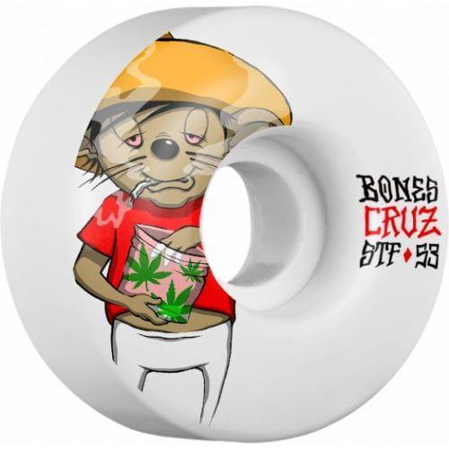Roda Bones STF V2 Cruz Weedy 83B 53mm