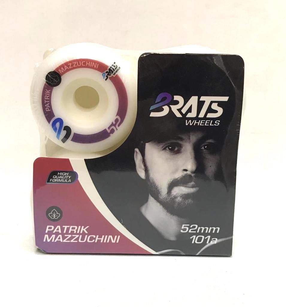 Roda Brats Wheels Patrick Mazzuchini 52mm