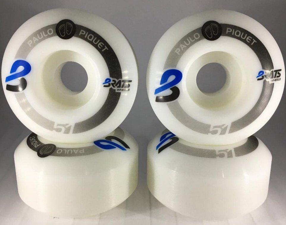 Roda Brats Wheels Paulo Piquet 51mm