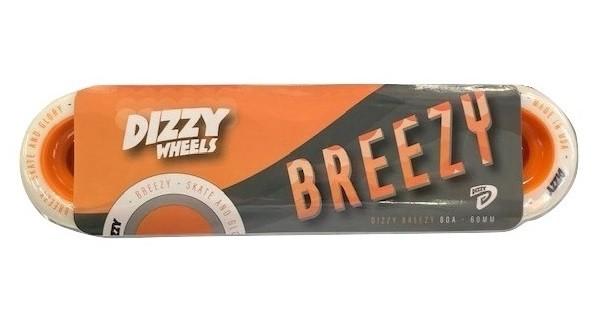 Roda Dizzy Breezy 60mm 80a Laranja