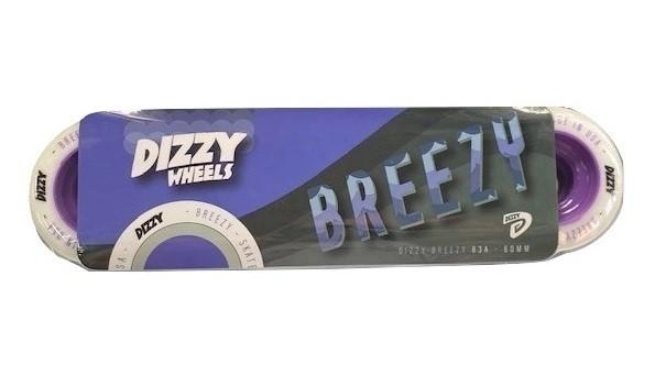 Roda Dizzy Breezy 60mm 83a Roxa