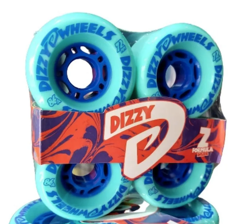 Roda Dizzy Hidro 72mm 86a