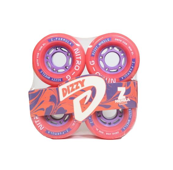 Roda Dizzy Nitro G 72mm 80a