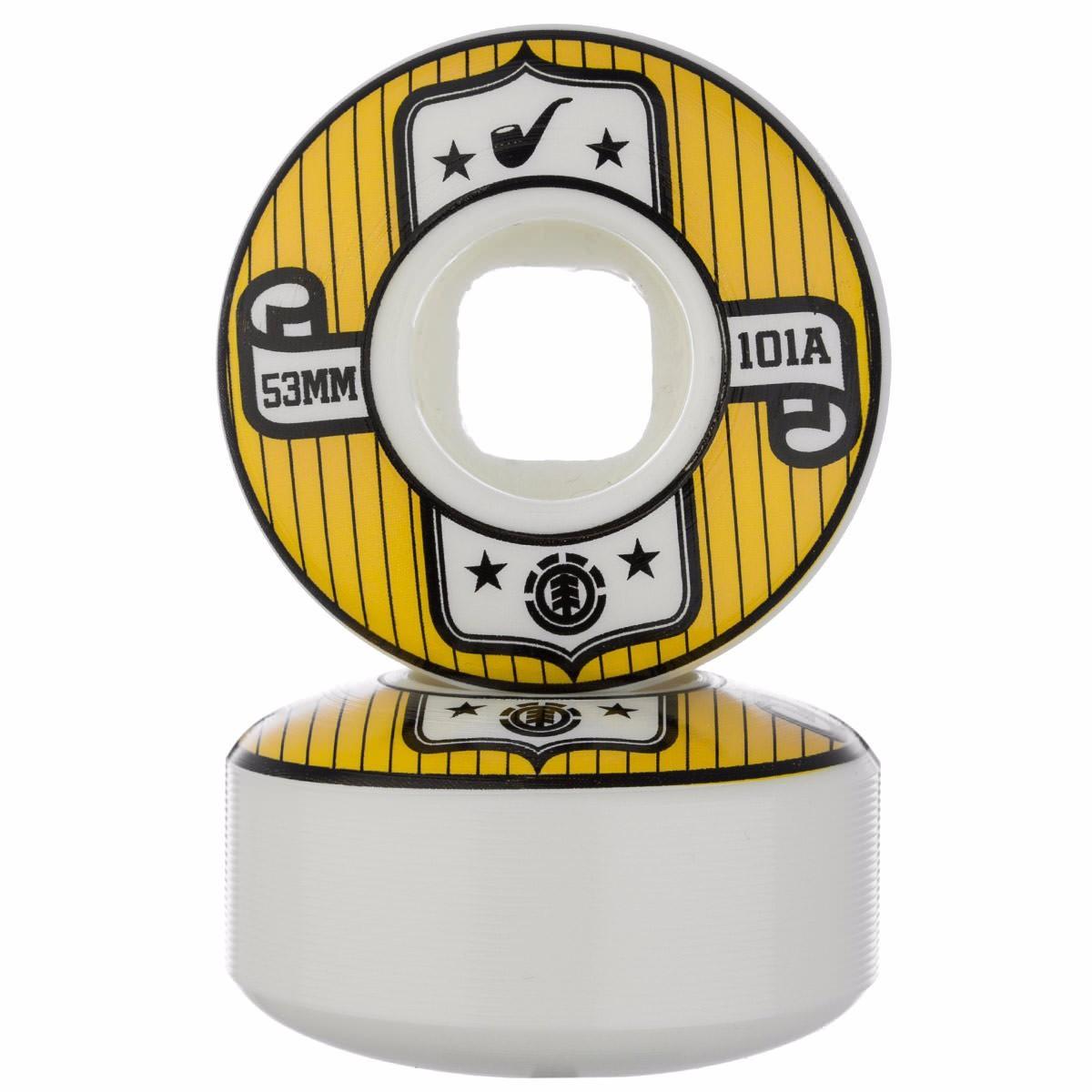 Roda Element Branca 53mm 101a