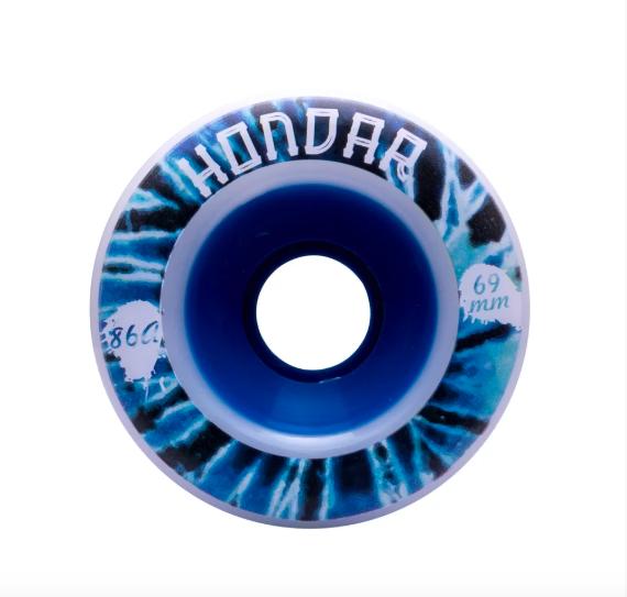 Roda Hondar FREERIDE Fluor Tiedye 69mm 86a