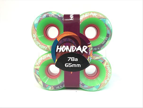 Roda Hondar FREERIDE Verde 65mm 78a
