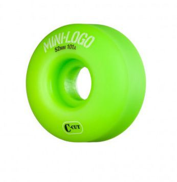 Roda Minilogo C-Cut 52mm Verde