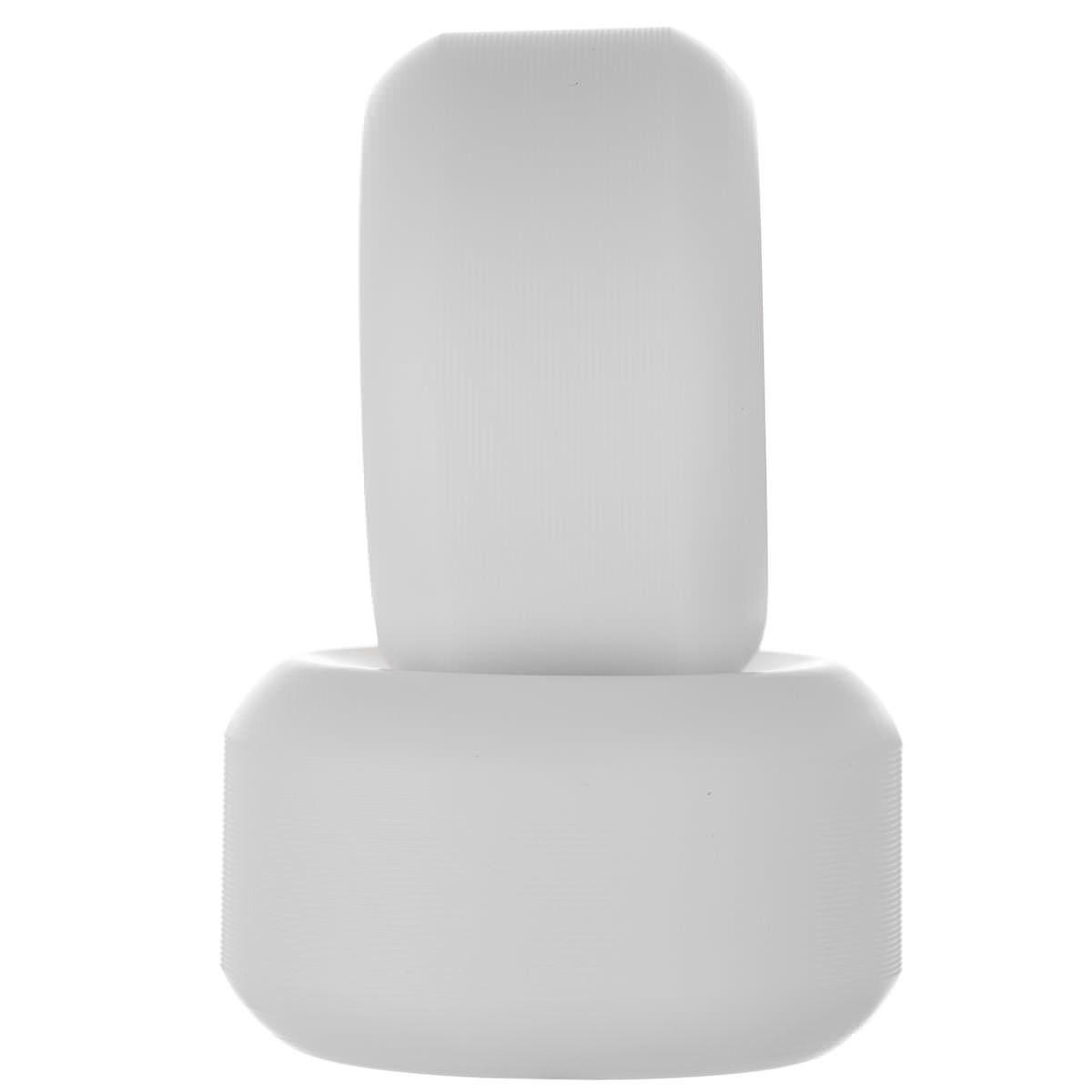 Roda Minilogo Soft 90a Branca 53mm