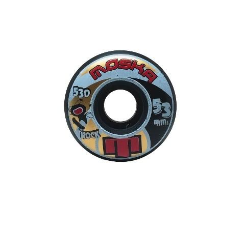 Roda Moska Rock 53D Preta 53mm